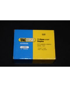 Tacwise Series 71 Staples 4mm-16mm