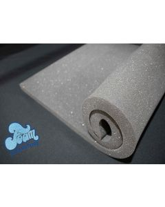 Medium Density Packaging Foam Sheet In Dark Grey (59.69cm X 203cm X 2.5cm)