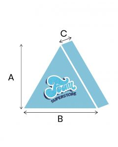 Foam Equilateral Triangles Cut To Size