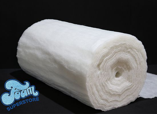 Polyester Wadding 2oz 4oz 6oz 9oz Upholstery Supplies 1 Metre Lengths and Rolls
